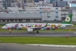 あしゅーさんが、福岡空港で撮影したエバー航空 A321-211の航空フォト(飛行機 写真・画像)