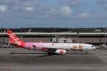 KAZFLYERさんが、成田国際空港で撮影したタイ・エアアジア・エックス A330-343Xの航空フォト(飛行機 写真・画像)