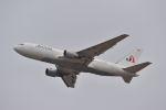 ポン太さんが、成田国際空港で撮影したジェット・アジア・エアウェイズ 767-222の航空フォト(飛行機 写真・画像)