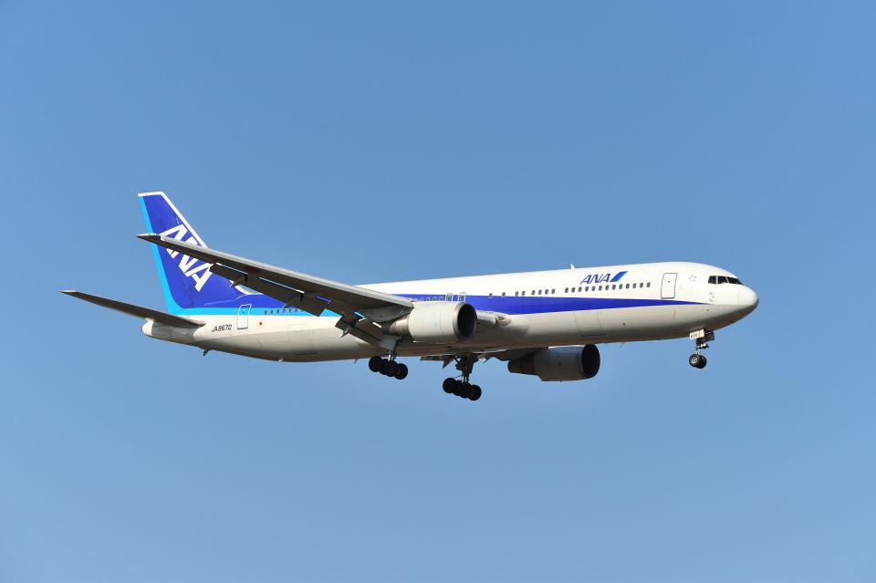 ポン太さんの全日空 Boeing 767-300 (JA8670) 航空フォト