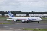 KAZFLYERさんが、成田国際空港で撮影した日本貨物航空 747-8KZF/SCDの航空フォト(飛行機 写真・画像)