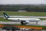 T.Sazenさんが、成田国際空港で撮影したキャセイパシフィック航空 A330-342Xの航空フォト(飛行機 写真・画像)