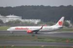 KAZFLYERさんが、成田国際空港で撮影したマリンド・エア 737-9GP/ERの航空フォト(写真)