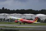KAZFLYERさんが、成田国際空港で撮影したベトジェットエア A321-271Nの航空フォト(写真)