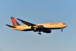 ポン太さんが、成田国際空港で撮影したデルタ航空 767-3P6/ERの航空フォト(飛行機 写真・画像)