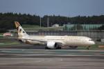 KAZFLYERさんが、成田国際空港で撮影したエティハド航空 787-9の航空フォト(飛行機 写真・画像)