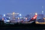 Rundy's Airgraphyさんが、羽田空港で撮影したカンタス航空 747-438/ERの航空フォト(飛行機 写真・画像)
