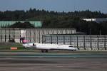 KAZFLYERさんが、成田国際空港で撮影したアイベックスエアラインズ CL-600-2C10 Regional Jet CRJ-702の航空フォト(飛行機 写真・画像)