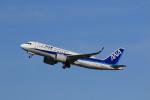 NH642さんが、福岡空港で撮影した全日空 A320-271Nの航空フォト(写真)