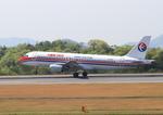 ふじいあきらさんが、広島空港で撮影した中国東方航空 A320-214の航空フォト(飛行機 写真・画像)