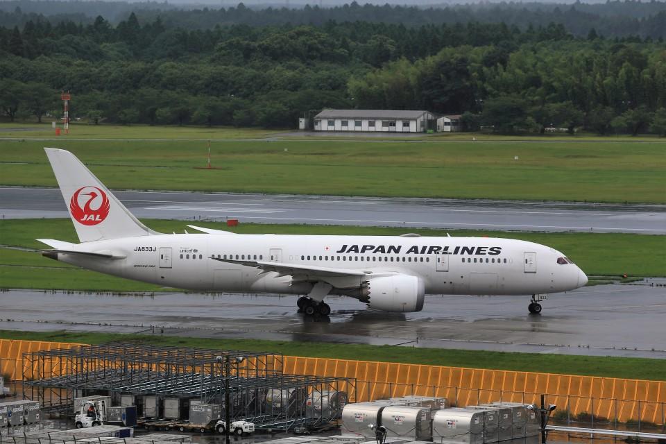 T.Sazenさんの日本航空 Boeing 787-8 Dreamliner (JA833J) 航空フォト