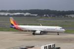 KAZFLYERさんが、成田国際空港で撮影したアシアナ航空 A321-231の航空フォト(写真)