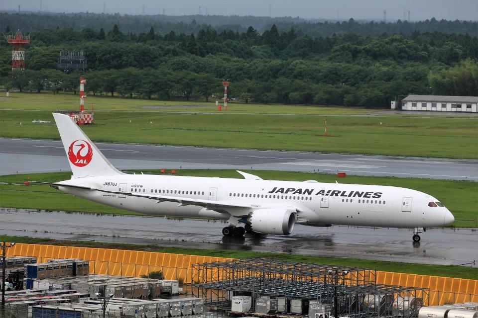 T.Sazenさんの日本航空 Boeing 787-9 (JA876J) 航空フォト