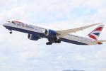 水月さんが、関西国際空港で撮影したブリティッシュ・エアウェイズ 787-9の航空フォト(写真)