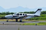 Gambardierさんが、岡南飛行場で撮影した岡山航空 G58 Baronの航空フォト(写真)