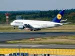 ふくそうじさんが、成田国際空港で撮影したルフトハンザドイツ航空 A380-841の航空フォト(写真)