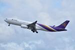 @たかひろさんが、関西国際空港で撮影したタイ国際航空 A330-343Xの航空フォト(写真)