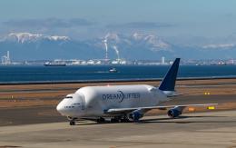 airbandさんが、中部国際空港で撮影したボーイング 747-4J6(LCF) Dreamlifterの航空フォト(飛行機 写真・画像)