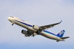 Fly Yokotayaさんが、伊丹空港で撮影した全日空 A321-272Nの航空フォト(写真)