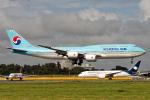 Cozy Gotoさんが、成田国際空港で撮影した大韓航空 747-8B5の航空フォト(写真)