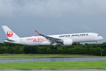 183keihozonkaiさんが、成田国際空港で撮影した日本航空 A350-941XWBの航空フォト(飛行機 写真・画像)