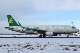セブンさんが、新千歳空港で撮影した春秋航空 A320-214の航空フォト(飛行機 写真・画像)