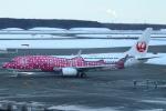 セブンさんが、新千歳空港で撮影した日本トランスオーシャン航空 737-8Q3の航空フォト(飛行機 写真・画像)
