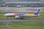 東空さんが、羽田空港で撮影した全日空 777-281/ERの航空フォト(写真)