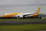北の熊さんが、新千歳空港で撮影したスクート 787-9の航空フォト(写真)