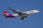かずまっくすさんが、シドニー国際空港で撮影したカンタス航空 747-438/ERの航空フォト(飛行機 写真・画像)