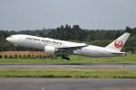 YASKYさんが、成田国際空港で撮影した日本航空 777-246/ERの航空フォト(写真)