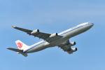 ポン太さんが、成田国際空港で撮影した中国国際航空 A340-313Xの航空フォト(飛行機 写真・画像)