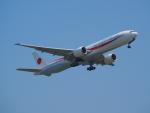 ここはどこ?さんが、千歳基地で撮影した航空自衛隊 777-3SB/ERの航空フォト(飛行機 写真・画像)