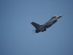 ここはどこ?さんが、千歳基地で撮影したアメリカ空軍 F-16CM-50-CF Fighting Falconの航空フォト(飛行機 写真・画像)