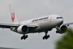 おかめさんが、成田国際空港で撮影した日本航空 777-246/ERの航空フォト(写真)