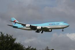 RAOUさんが、成田国際空港で撮影した大韓航空 747-8B5の航空フォト(写真)