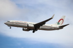 kenzy201さんが、リスボン・ウンベルト・デルガード空港で撮影したロイヤル・エア・モロッコ 737-8B6の航空フォト(写真)