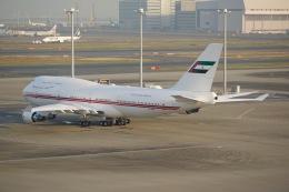 flying_horseさんが、羽田空港で撮影したドバイ・ロイヤル・エア・ウィング 747-422の航空フォト(飛行機 写真・画像)