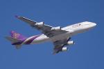 かずまっくすさんが、シドニー国際空港で撮影したタイ国際航空 747-4D7の航空フォト(写真)