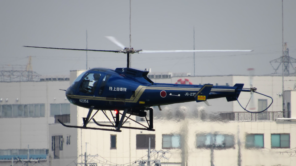 Ocean-Lightさんの陸上自衛隊 Enstrom 480 (62354) 航空フォト