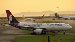 Ocean-Lightさんが、関西国際空港で撮影したハワイアン航空 A330-243の航空フォト(飛行機 写真・画像)