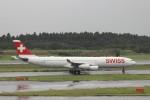 KAZFLYERさんが、成田国際空港で撮影したスイスインターナショナルエアラインズ A340-313Xの航空フォト(写真)