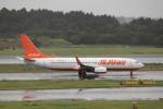 KAZFLYERさんが、成田国際空港で撮影したチェジュ航空 737-8FHの航空フォト(飛行機 写真・画像)