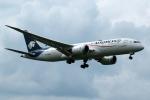 採れたてほしいもさんが、ロンドン・ヒースロー空港で撮影したアエロメヒコ航空 787-8 Dreamlinerの航空フォト(写真)