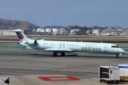 masa707さんが、サンフランシスコ国際空港で撮影したジャズ・エア CL-600-2D15 Regional Jet CRJ-705ERの航空フォト(飛行機 写真・画像)