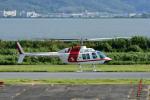 Gambardierさんが、岡南飛行場で撮影した朝日航洋 206B JetRanger IIの航空フォト(写真)