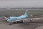 k_n_k01さんが、羽田空港で撮影した大韓航空 747-4B5の航空フォト(写真)