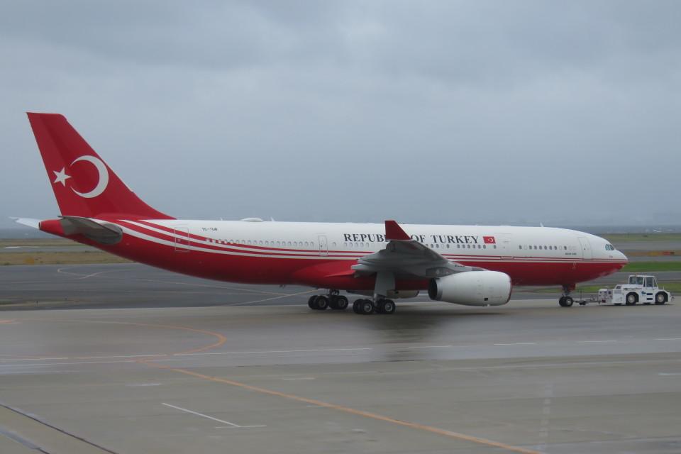 SFJ_capさんのトルコ政府 Airbus A330-200 (TC-TUR) 航空フォト