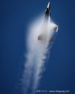 michioさんが、千歳基地で撮影したアメリカ空軍 F-16CM-50-CF Fighting Falconの航空フォト(飛行機 写真・画像)