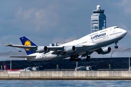 Ariesさんが、関西国際空港で撮影したルフトハンザドイツ航空 747-430の航空フォト(飛行機 写真・画像)